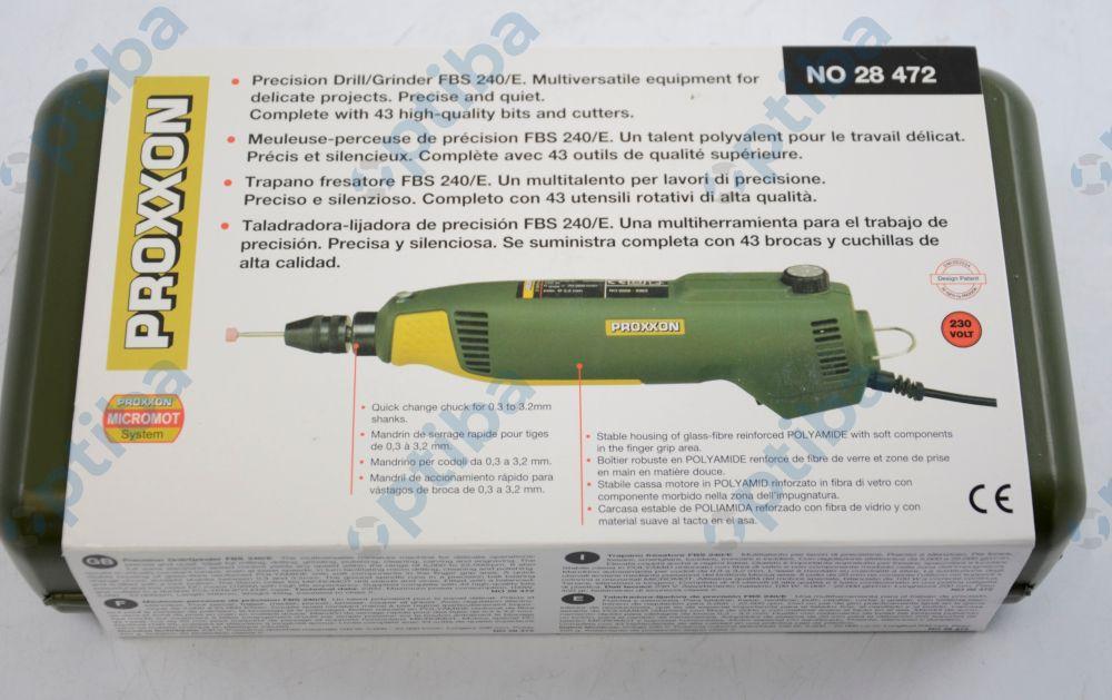 Wiertarko-frezarka FBS 240/E w walizce 5000-20000 obr/min 100W 230V 28472