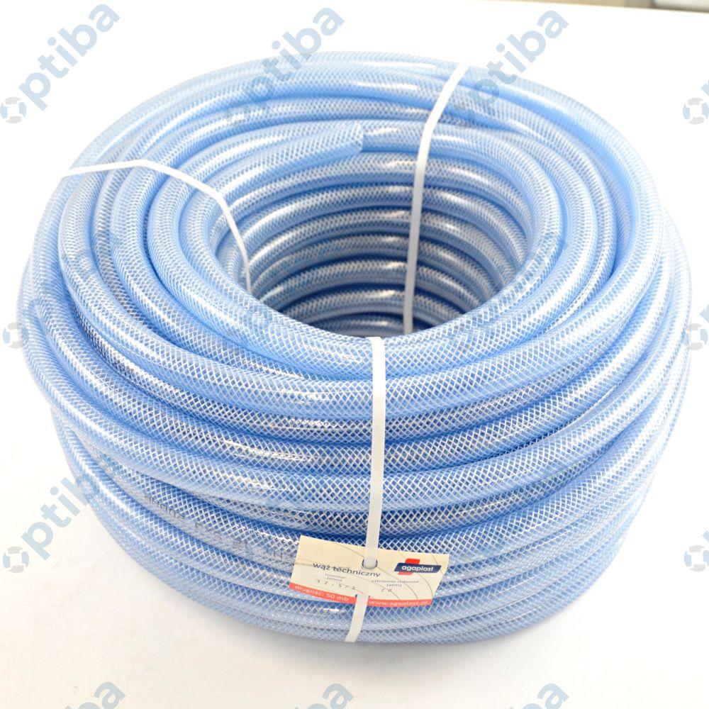 Wąż techniczny DN 12,5x3 w oplocie poliestrowym