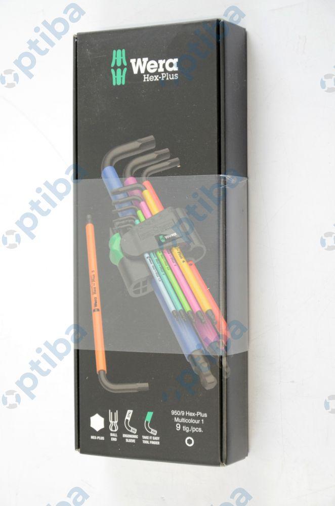 Zestaw 9 kluczy imbusowych z kulką 073593