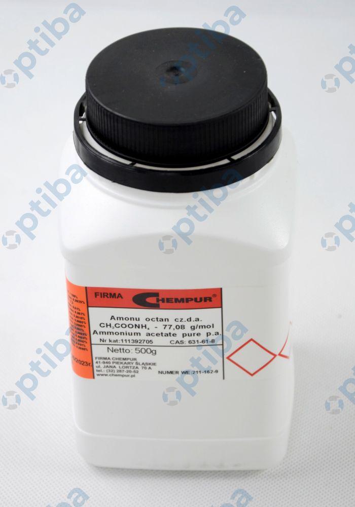 Octan amonu CZDA 111392705 500g numer CAS 631-61-8