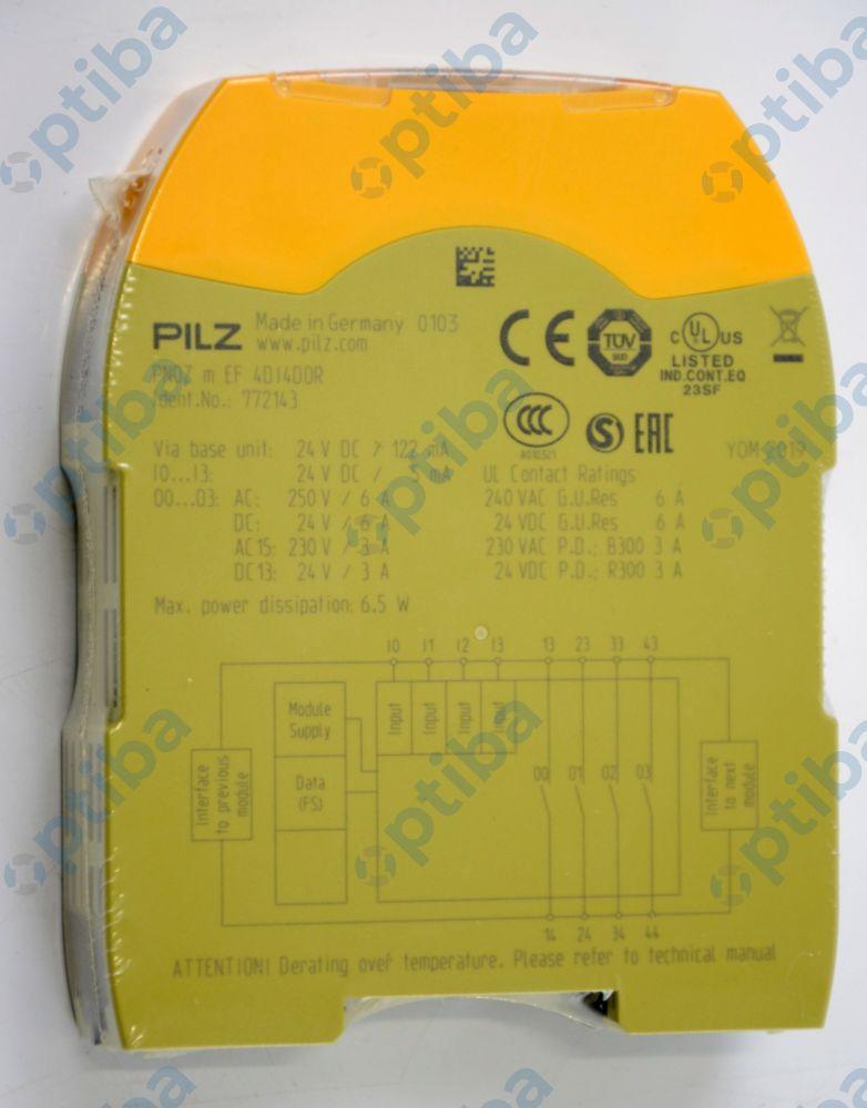 Moduł rozszerzeń PNOZ m EF 4DI4DOR 772143