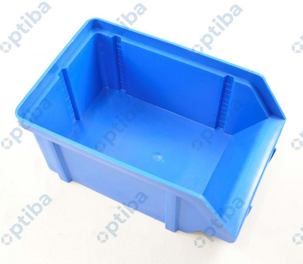 Pojemnik warsztatowy typ II 314x202x148mm nośność 12kg poj. 4dm3 niebieski