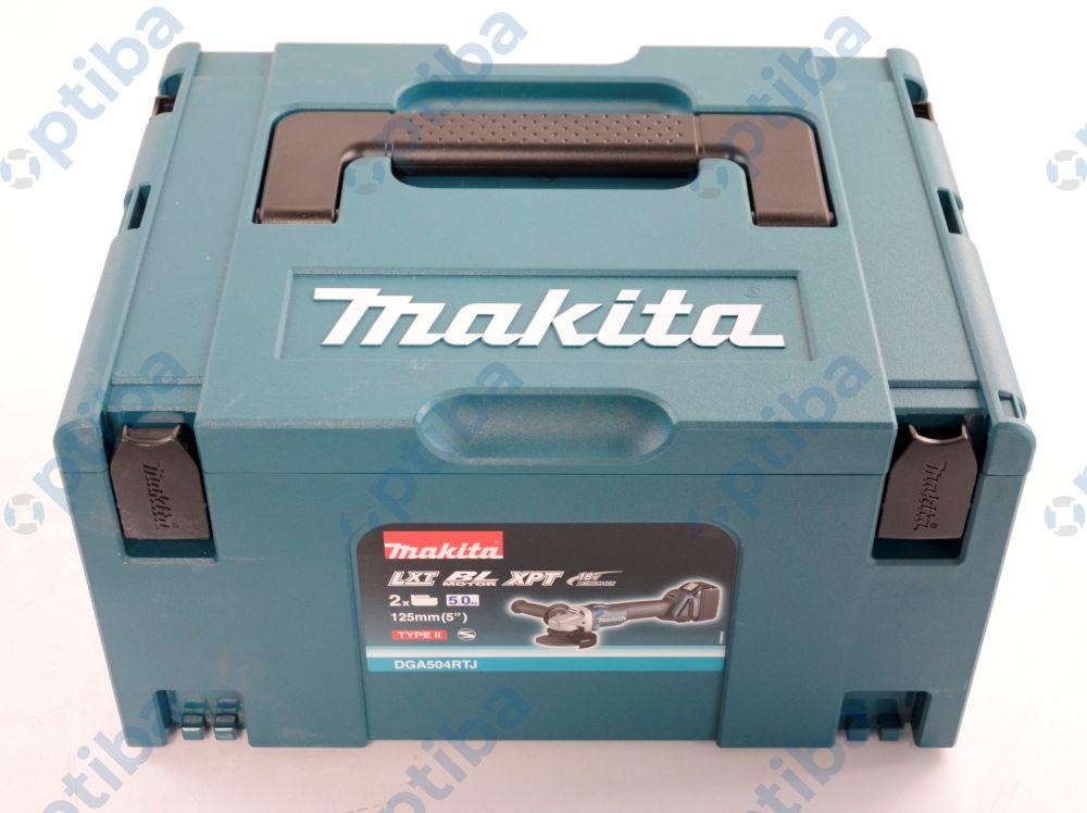 Szlifierka kątowa DGA504RTJ akumulatorowa 18V 8500 obr/min fi tarczy 125mm
