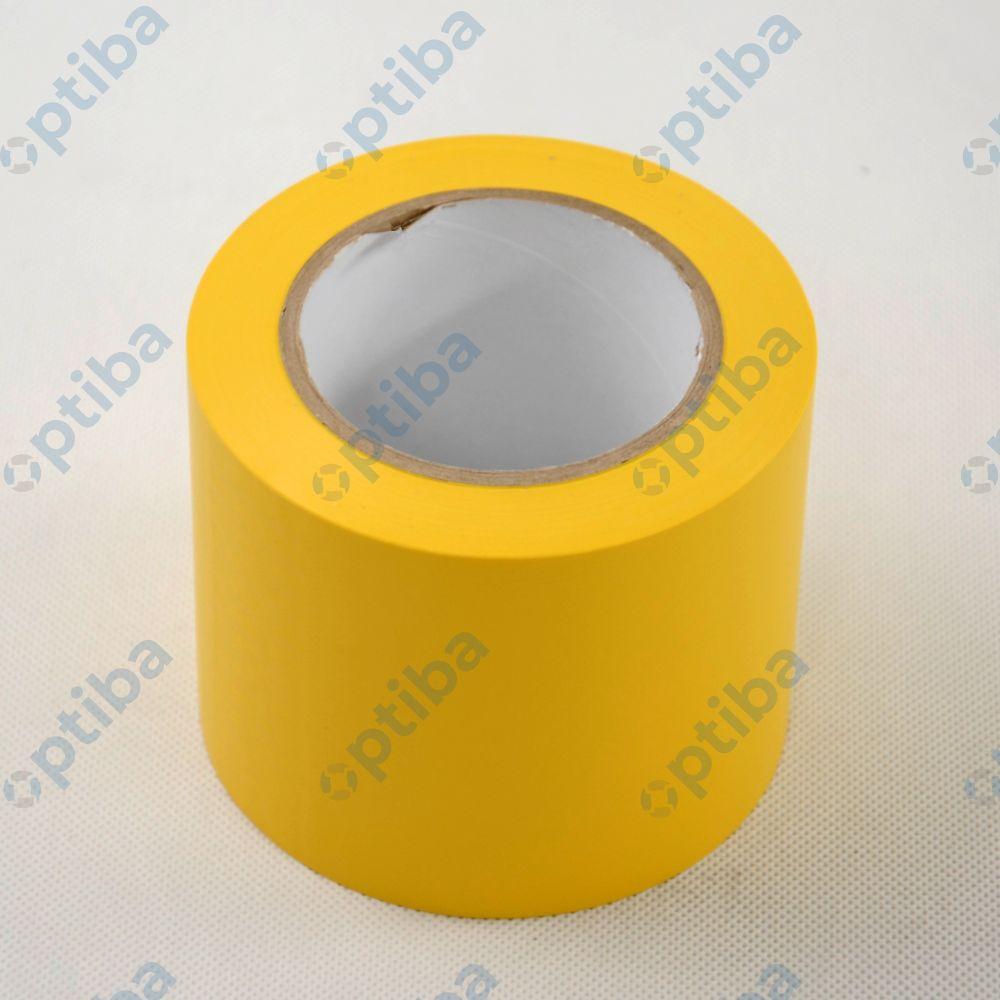 Taśma znakująca 0,10x33m gr.0,17mm żółta