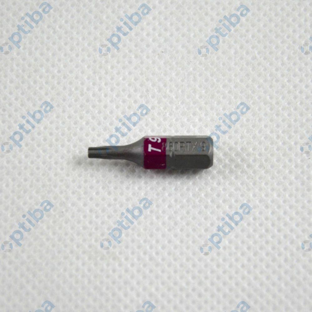 """Końcówka wkrętakowa 860RTX/T9 TAMPER RES.TORX 1/4"""" 008600550"""