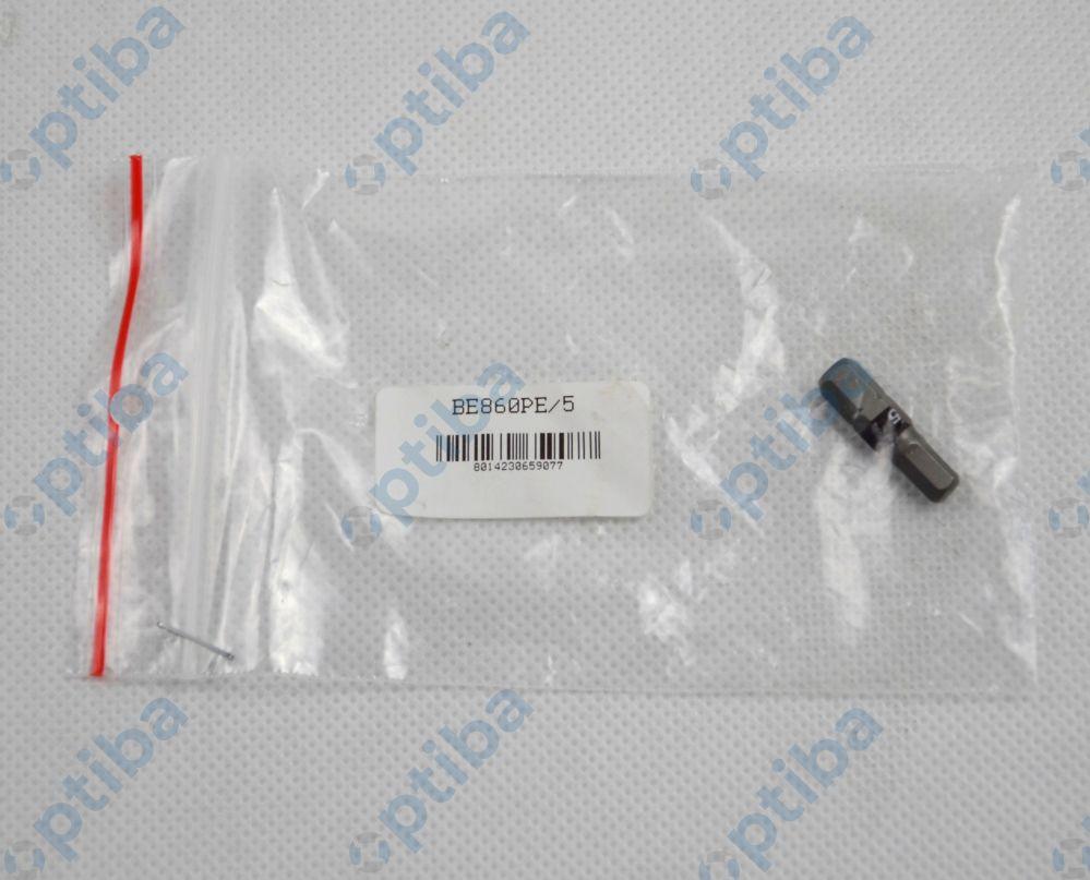 """Końcówka wkrętakowa 860PE/5 HEX zab.1/4"""" 008600105"""