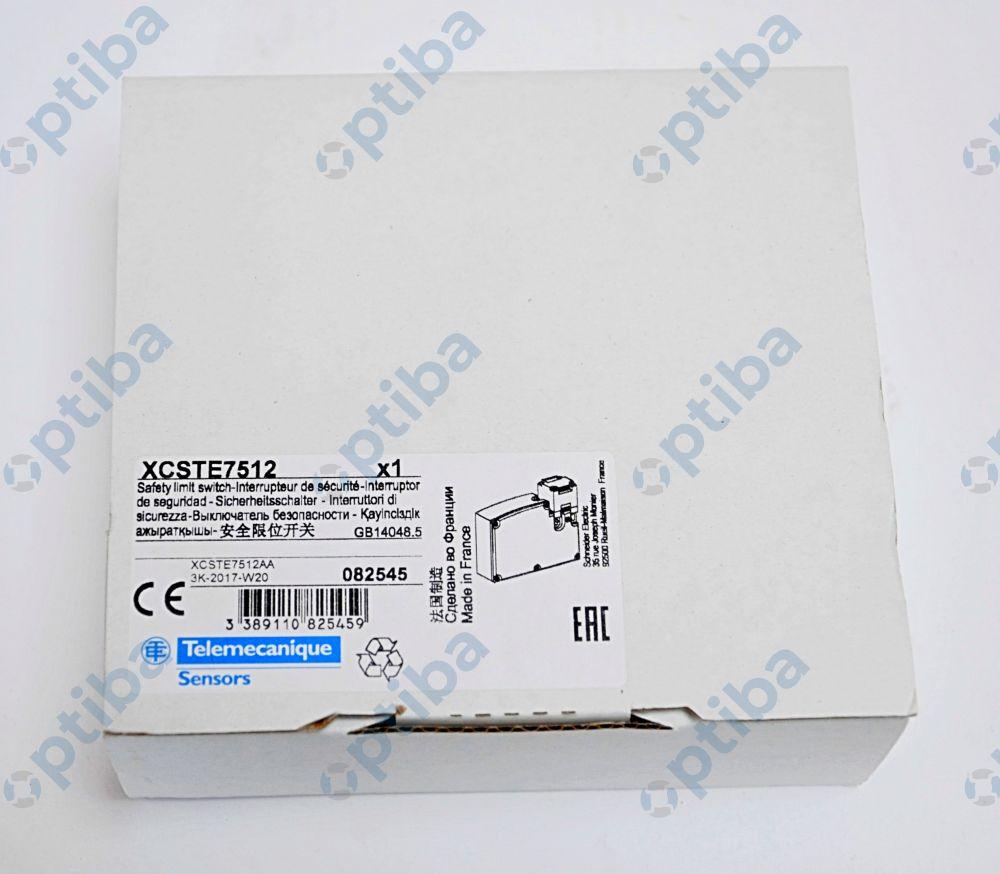 Rygiel elektromagnetyczny XCSTE7512 24VDC 2xNC TELEMECANIQUE