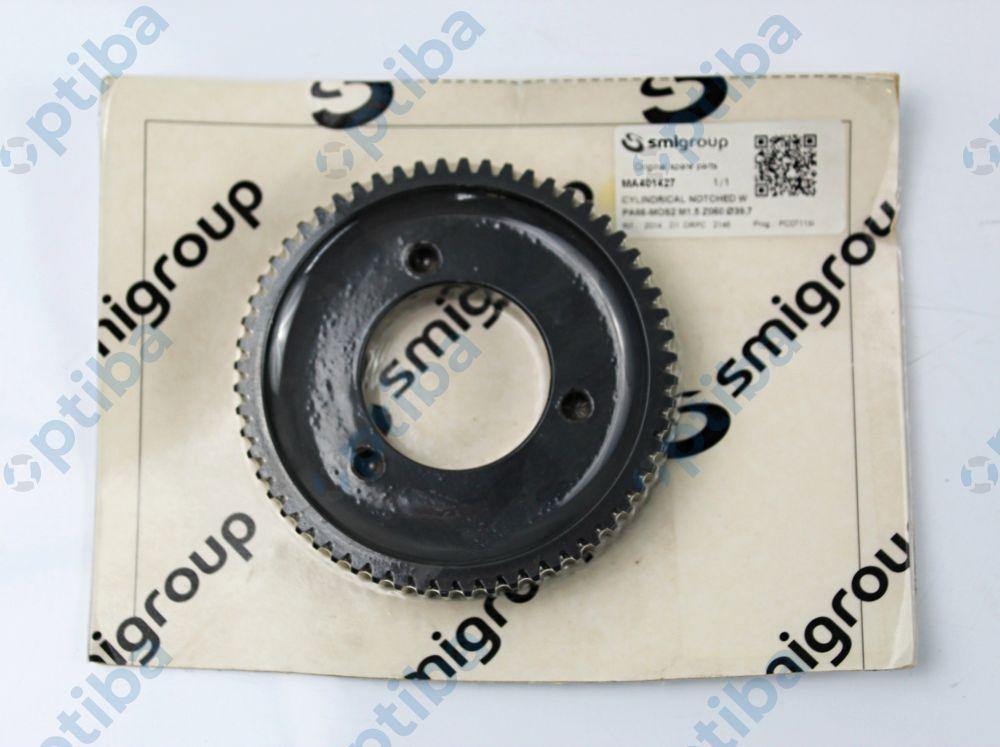 Koło plastikowe MA401427 PA66-MOS2 M1.5 Z060 fi39,7