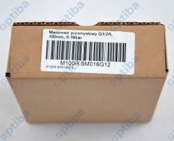 Manometr przemysłowy M100R.SM016G12 G1/2R 100mm 0-16bar kl. 1.6 stal nierdzewna