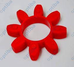 Wkładka elastyczna 98 SHORE A48 czerwona R+L HYDRAULICS