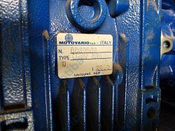 Przekładnia ślimakowa NMRV 063-U-20,0 GR80 B5