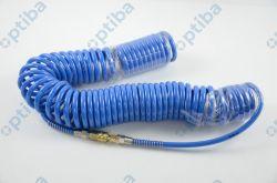 Zestaw węża spiralnego 12x8 15m z szybkozłączkami i króćcem
