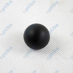 Uchwyt kulisty z termoplastu DIN 319 forma C z gwintem z tworzywa sztucznego K0158.12506