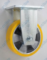 Koło aluminiowo-poliuretanowe A43PD d=160st. z obudową spawaną