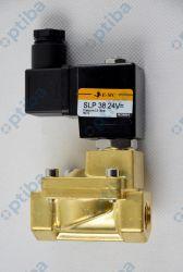 "Zawór elektromagnetyczny mosiężny SLP3824V 2/2-drogowy G3/8"" 05-16 bar NC 24VDC Eco"