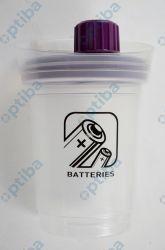 Pojemnik na zużyte baterie BATTERY-MAX 3l 20x27,5cm