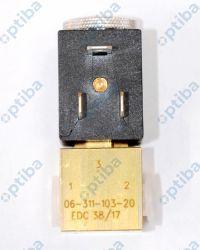 Zawór FAS MINISOL 06-311-103-20 3/2 NC G1/8 DN1.6 NBR NORGREN