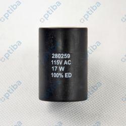 Cewka elektrozaworu MAG-SP D36 115A 17W fi wew. 16mm 280259