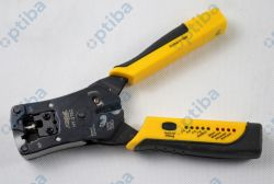 Zaciskarka HY-376C 6p/8p z testerem kabli