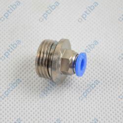 Złączka wtykowa prosta 122.012-6 G1/2z 6mm