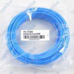 Wąż pneumatyczny niebieski 6x4 259.16SB-25 krążek 25m