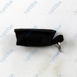 Apteczka 4x6cm w formie breloka ratowniczego czarna