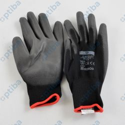 Rękawice powlekane DROP Black 100 r.9