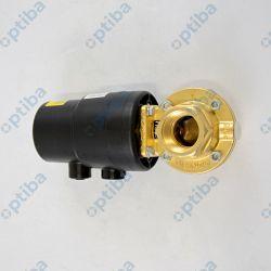 Przepustnica metalowa 415/025/D 1.12.14-1-0 z napędem pneumatycznym DN 25 korpus 12 mosiądz (CW617N)88012131 GEMU
