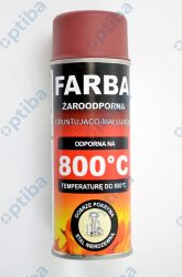 Farba żaroodporna RAL991 400ml
