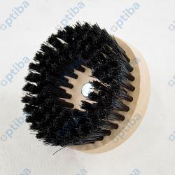 Szczotka SK Carpet Brush Hard 95mm okrągła, montowana do wiertarki/wkrętarki czarna