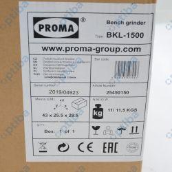 Szlifierka dwutarczowa BKL-1500 25450150