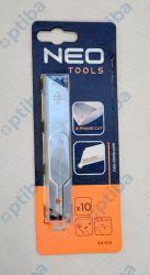 Zestaw 10 ostrzy 64-010 18mm łamanych wymiennych