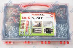 Zestaw kołków i wkrętaków w pudełku DUOPOWER 536091