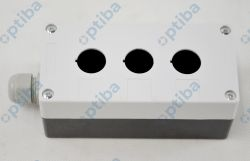 Kaseta sterownicza 3-przyciskowa BOX-3-X biała