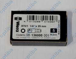 "Adapter do nasadek 870/1 25mm 1/4"" na 6-kąt 1/4"" 05136000001"