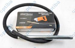Wibrator do betonu z buławą KD10842+KD10843