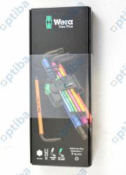 Zestaw 9 kluczy trzpieniowych 950/9 Hex-Plus Multicolour 1 073593