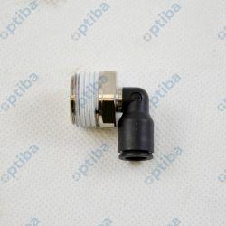 Złączka wtykowa kątowa 3109 08 21 fi 8mm R1/2