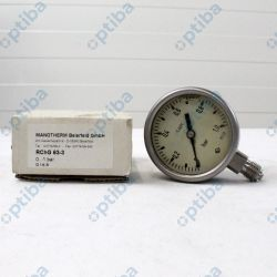 Manometr glicerynowy RChG 63-3 Fi 60 0-1bar G1/4 B