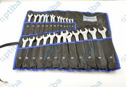Zestaw 25 kluczy płasko-oczkowych 6-32mm BP-7170