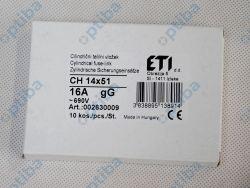 Bezpiecznik ETIP-002630009 14x51 16A 690V