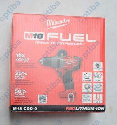Wiertarko-wkrętarka M18CDD-0 akumulatorowa 18V silnik bezszczotkowy 80Nm 4933431215