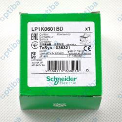 Stycznik mocy 6A 3P 24V DC 0Z 1R LP1K0601BD