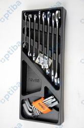 Zestaw 17 kluczy 2424/T34 we wkładce z tworzywa 024240034