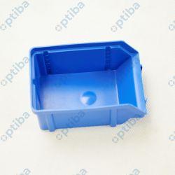 Pojemnik warsztatowy typ V 119x77x56mm nośność 0,6kg poj. 0,2dm3 niebieski