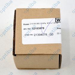 Manometr glicerynowy 213.53.063-TC/0-6MPa/M12x1,5kl. 1,6