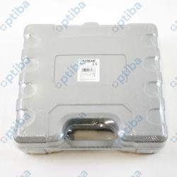 Zestaw 2 noży 20/10cm termicznych do cięcia styropianu PCV z końcówkami i walizką 2899 AC 230V 50-60Hz 150W