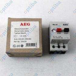 Wyłącznik silnikowy MBS25 1,6-2,5A 910201206000