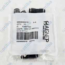 Złączka prosta 55040 8-6mm
