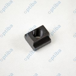 Nakrętka teowa M16 DIN 508 kl.10 czarna